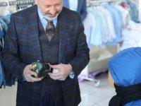 Kocasinan'da ikinci el kıyafetleri, ihtiyaç sahiplerine ulaştırıyor