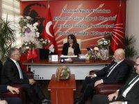 CHP ve İYİ Parti'ye ziyaret