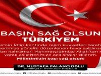 Başkan Palancıoğlu'ndan başsağlığı mesajı