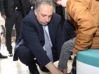 Talas belediyesi 94 çocuğa ayakkabı yardımında bulundu