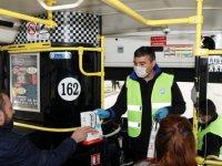 İşte hizmet işte Talas Belediyesi 10 bin adet hijyen çantası dağıttı