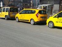 Kayseri'de taksilerin çalışma düzeni değişti