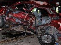 Kocasinan Bayramhacılı kavşağında trafik kazası: 1 ölü, 2 yaralı