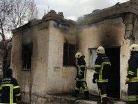 Kocasinan zümrüt mahallesinde yangın