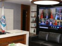 Büyükkılıç,Cumhurbaşkanı Erdoğan ile tele konferans yaptı