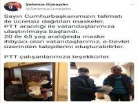 Kayseri'de ücretsiz maske dağıtımları başladı