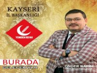 Yeniden Refah Partisi İl Başkanı Narin,Başkan Büyükkılıç'a seslend