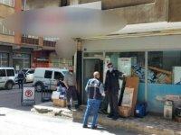 Sahabiye'de Kargo şubesine silahlı saldırı