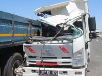 Kayseri Yeşilyurt'ta feci kaza; yolcunun kolu koptu