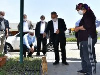 Başkan Büyükkılıç, hobi bahçeleriyle ilgili açıklama yaptı