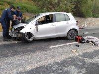 Sarız ilçesi Çörekdere yolunda trafik kazası: 1 ölü