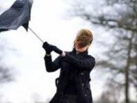Kayseri Meteoroloji yağmur ve rüzgara karşı vatandaşları uyardı