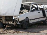 Buğdaylı'da trafik kazası: 2 yaralı