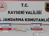 Melikgazi ve Kocasinan'da uyuşturucu operasyonu: 3 gözaltı