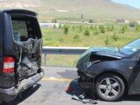Boğazköprü yolunda trafik kazası: 6 yaralı