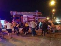 Kayseri'de feci kaza iki otomobil çarpıştı 3 yaralı