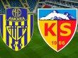 Kayserispor Cumartesi günü sahasında Ankaragücü'nü ağırlayacak